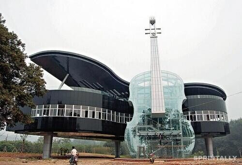 Piano and the Violin House