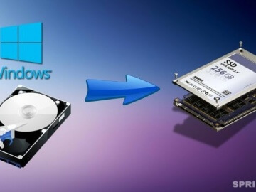 transfer Windows system from HDD to SSD drive