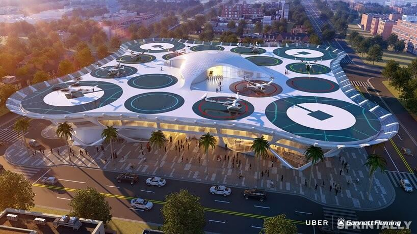 Uber flew away. Here are 6 flying taxis of the future and 6 landing sites for them 2