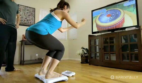 Video games help to stay in shape
