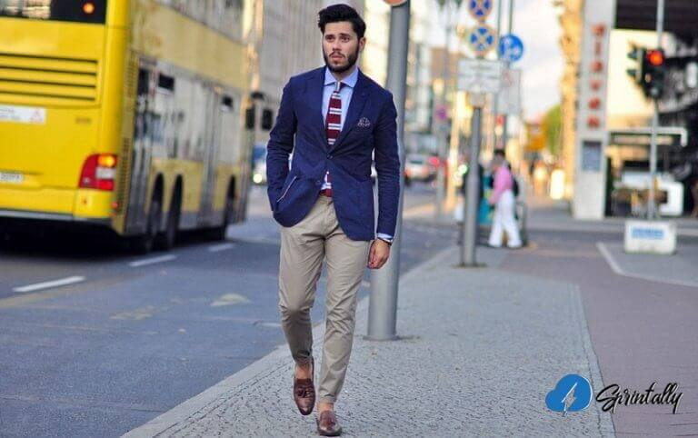 Trousers chinos