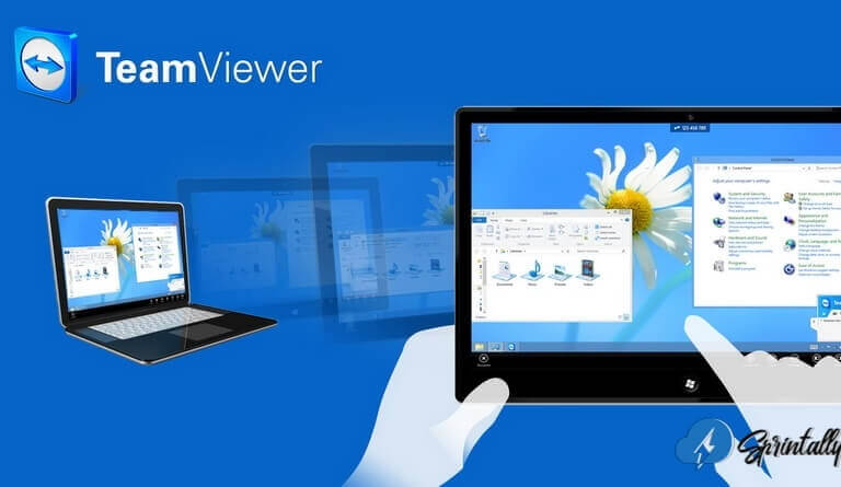 Remote computer access with TeamViewer