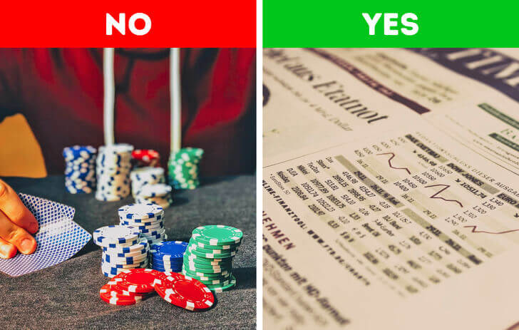Wealthy people don't hope to win the lottery