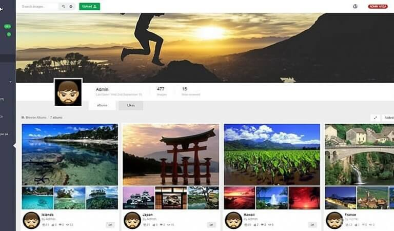 Top 10 best image hosting script like 500px or Flickr
