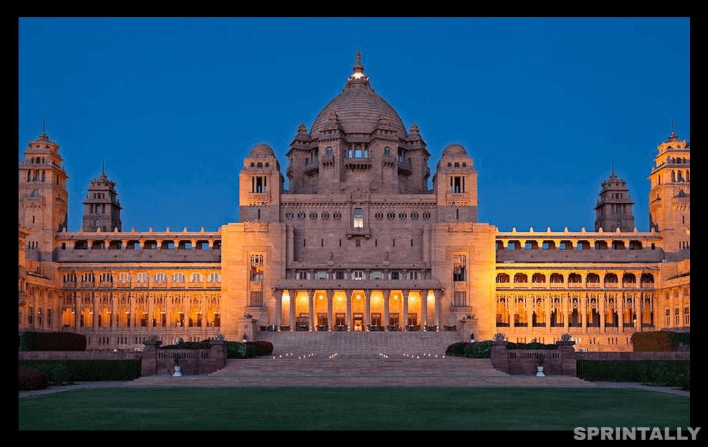 The Taj Umaid Bhawan