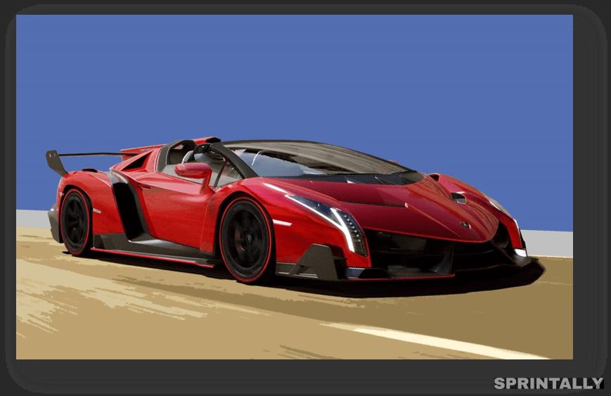 Lamborghini Veneno - $4.5 Million
