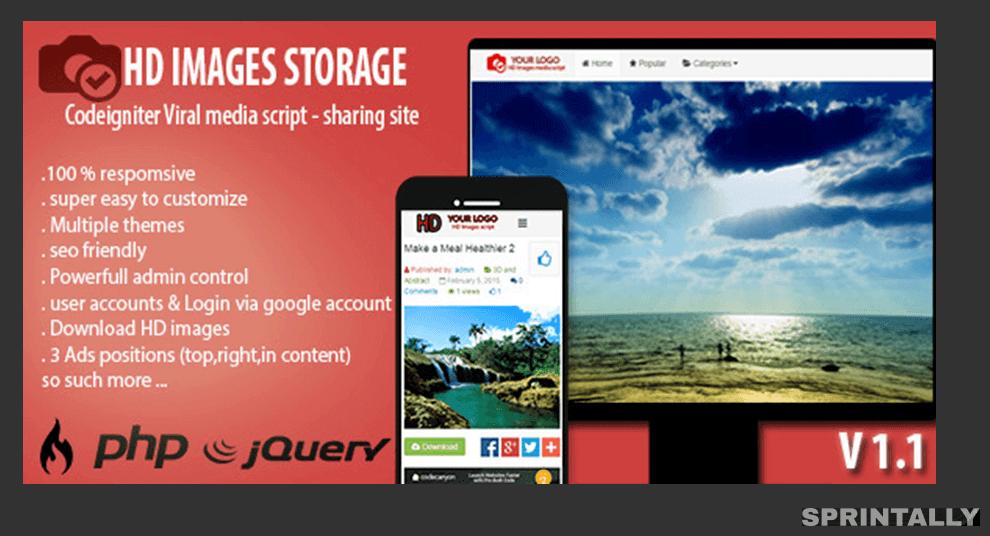 Hd Image Storage