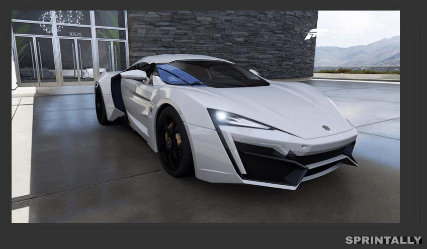 W Motors Lykan Hypersport - $3.4 Million