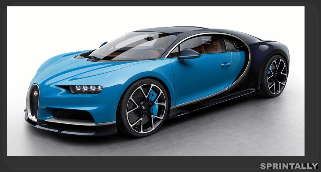 Bugatti Chiron - $ 2.5 Million