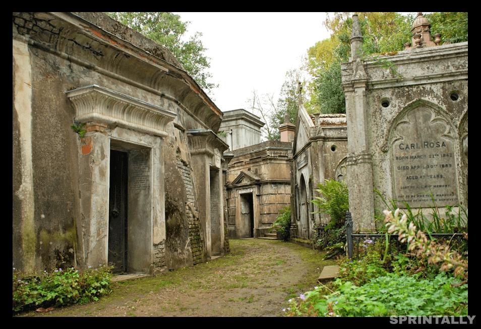 Highgate Cemetery, North London