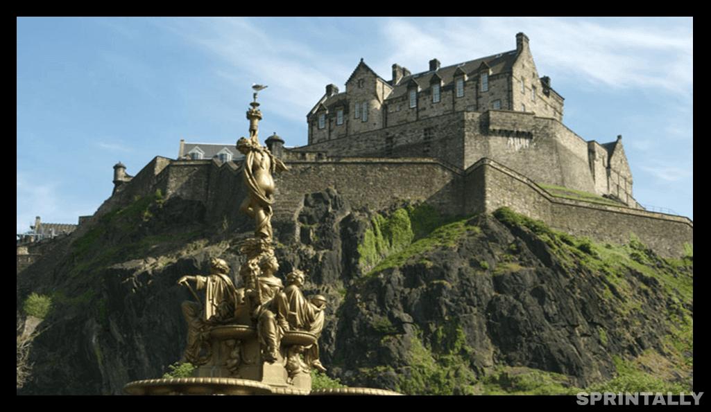 Edinburg Castle, Uk