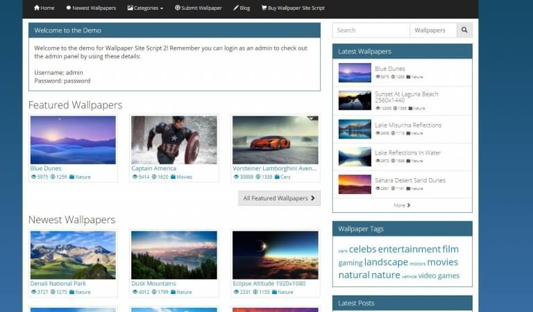 9 best wallpaper website scripts in the market