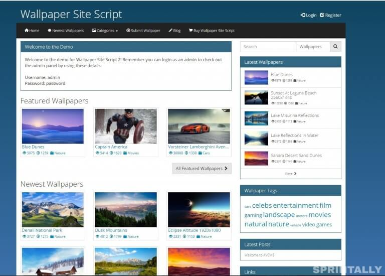 Wallpaper Website