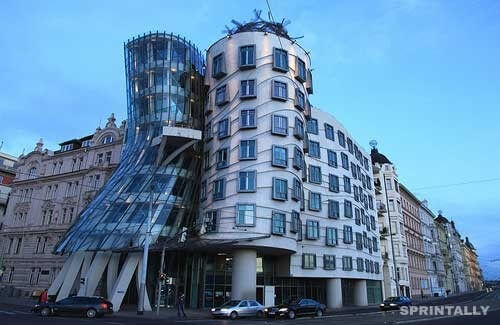 Prague's Nationale-Nederlanden