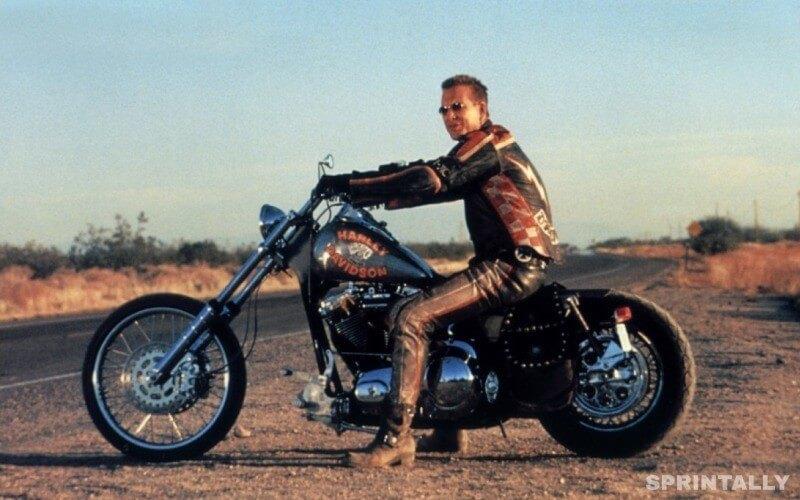 Harley Davidson And Cowboy Marlborough