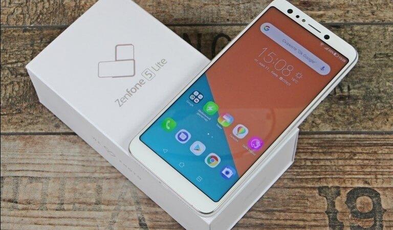 Overview of the smartphone ASUS ZenFone 5 Lite (ZC600KL)