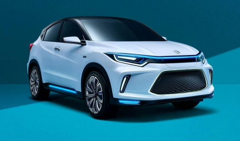 Honda introduced the electric crane Everus EV Concept in Beijing, the serial version will be launched in China at the end of 2018
