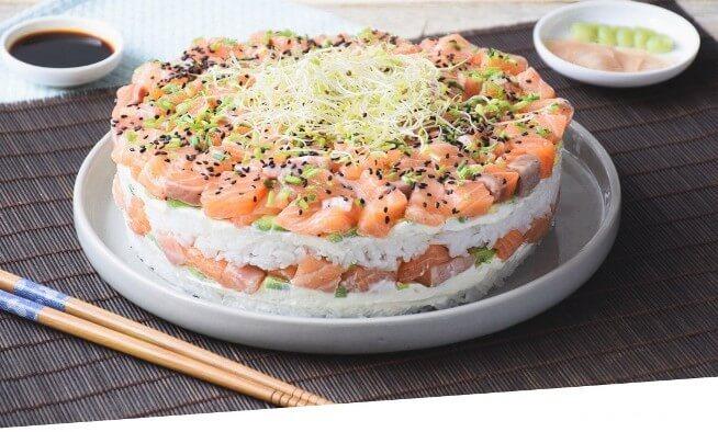 Sushi Cake California