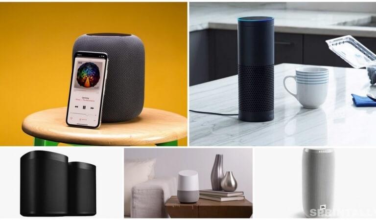 Home helpers: 5 best smart speakers