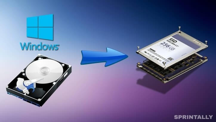 How to transfer Windows system from HDD to SSD drive?
