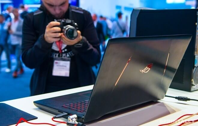 ASUS ROG Strix GL702ZC: how fast the first eight core notebook