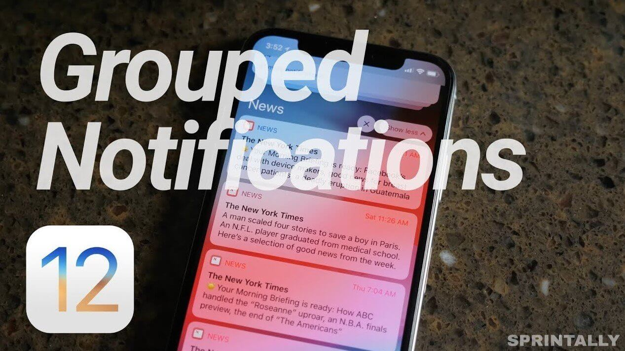 Grouping Of Notifications
