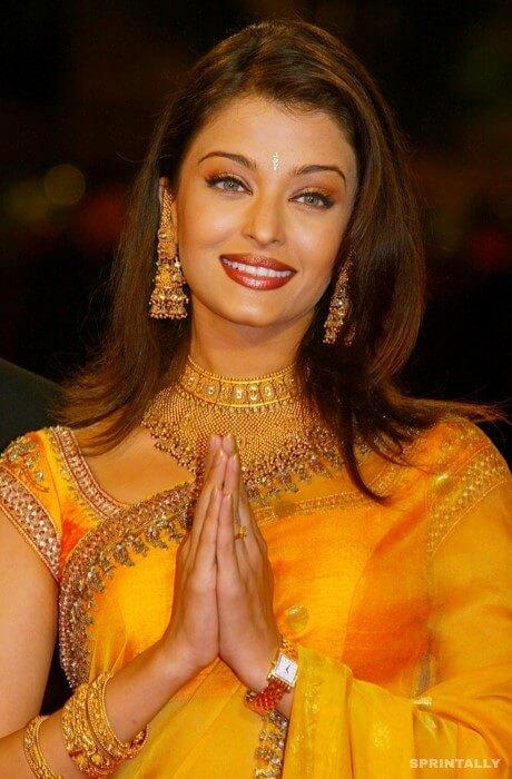 Aishwarya Rai In Cannes, 2002