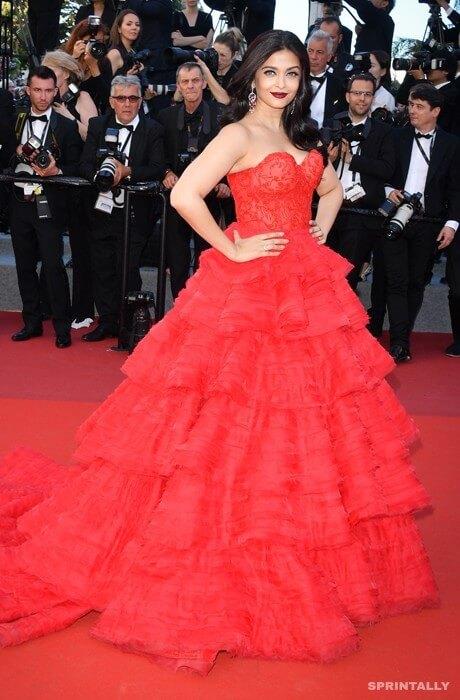 Aishwarya Rai In Cannes, 2017