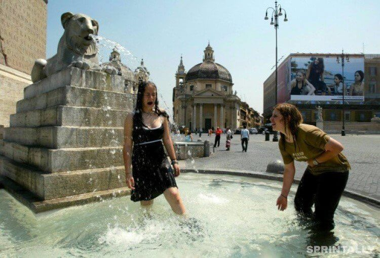 Bathe In The Fountains