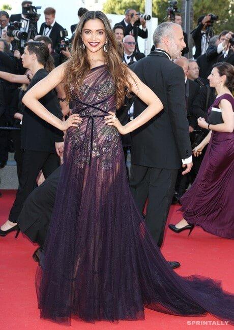 Deepika Padukone In Cannes, 2017
