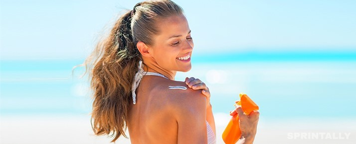 Girl With Sunscreen