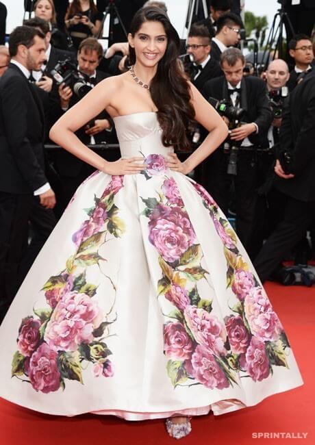 Sonam Kapoor In Cannes, 2013