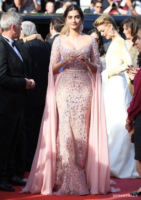 Sonam Kapoor In Cannes, 2017