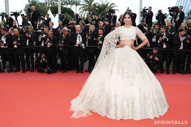 Sonam Kapoor In Cannes, 2018