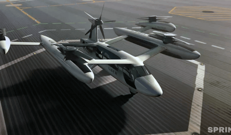 Uber flew away. Here are 6 flying taxis of the future and 6 landing sites for them