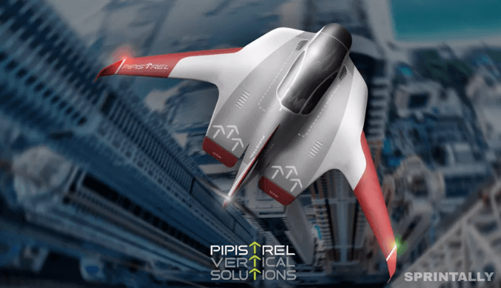 Uber Air Pipistrel Aircraft