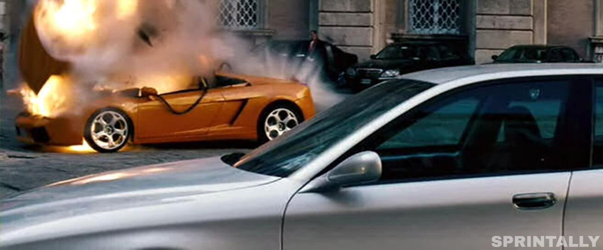 Mission Impossible Lamborghini