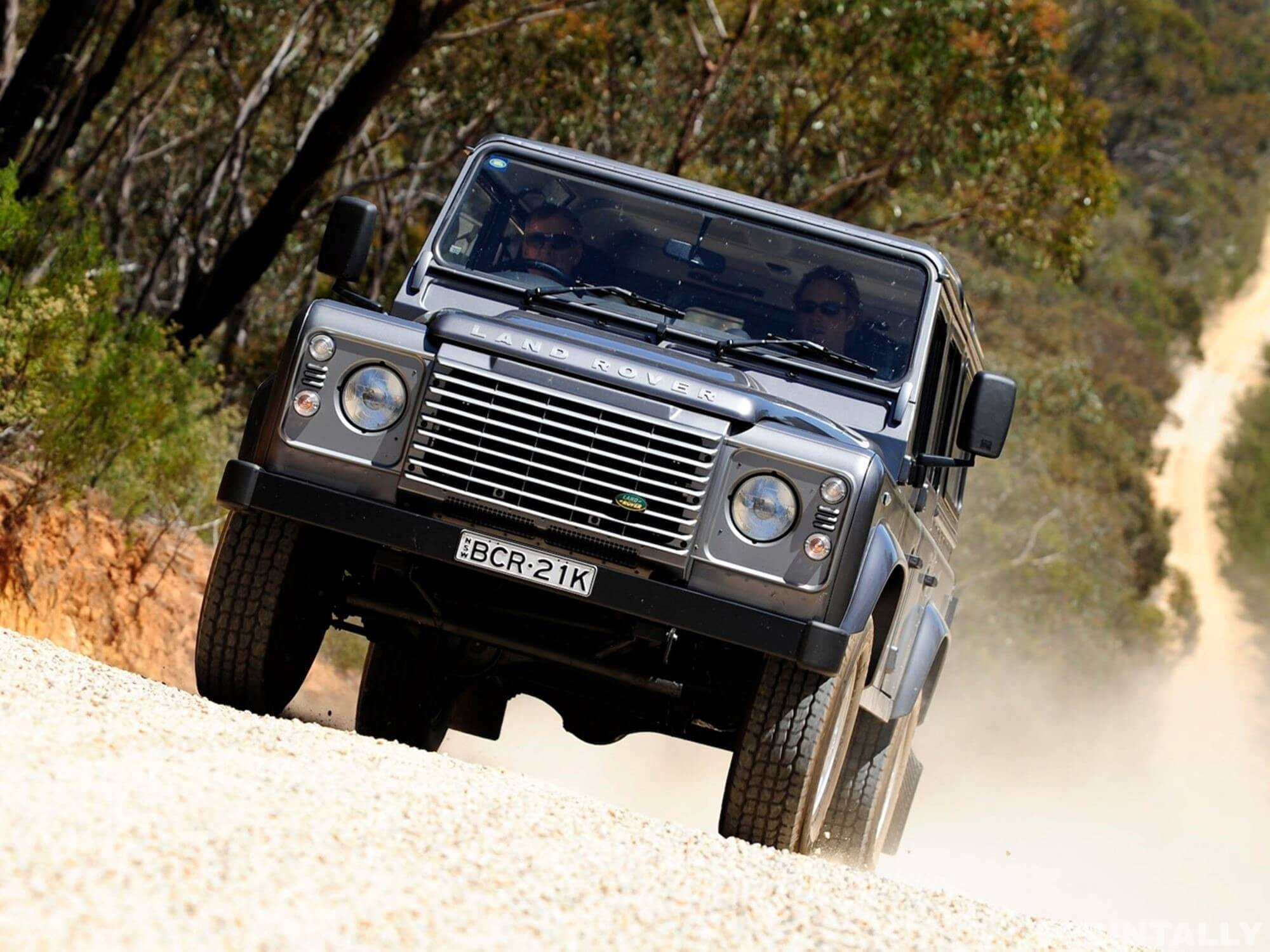 Mission Impossible Land Rover