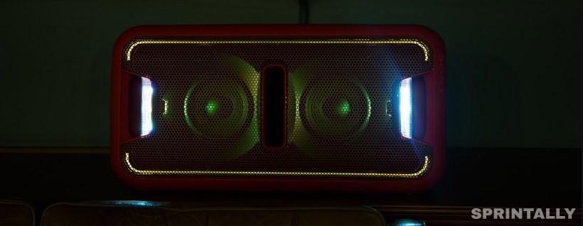 Sony Gtk-Xb7 Backlight