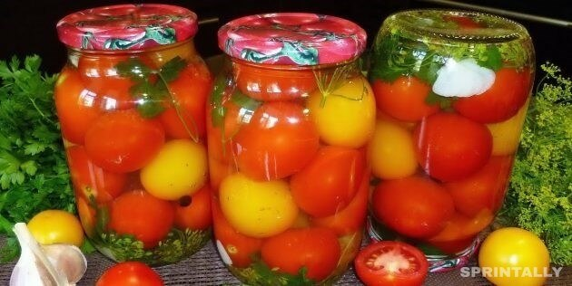 Tomatoes With Greens