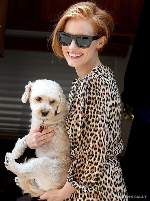 Jessica Chastain And Chaplin