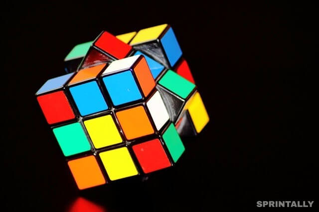 Mathematicians sorted out Rubik's giant cubes