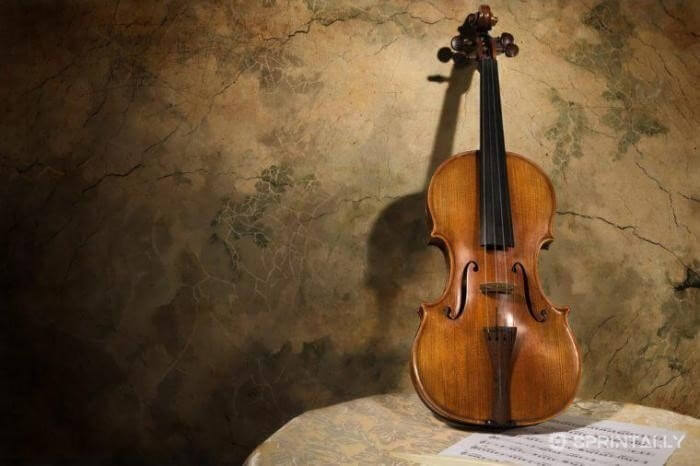 Violin of Stradivarius