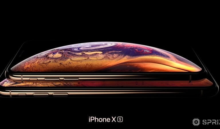 The iPhone XS has detected a problem with OLED display