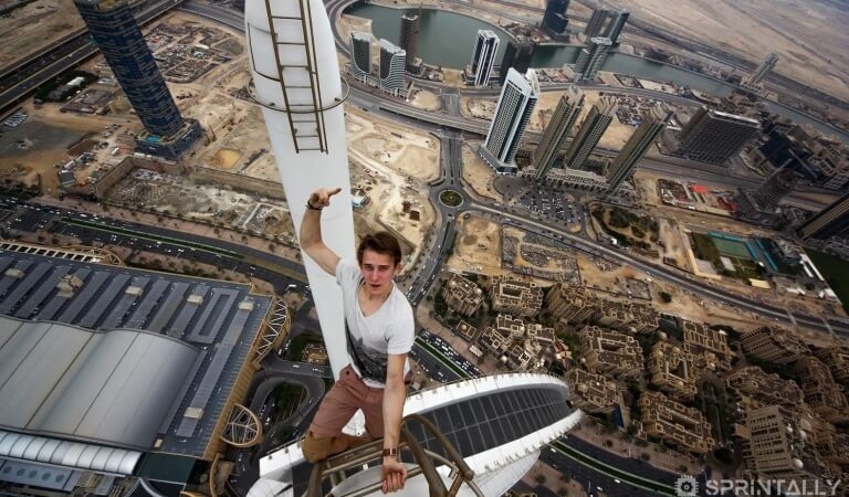 Extreme selfie: 25 frames, for which they risked their life