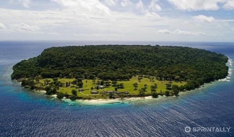 Own paradise for 10 million dollars