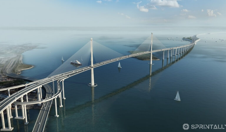 6 awesome photos of the longest sea bridge in China