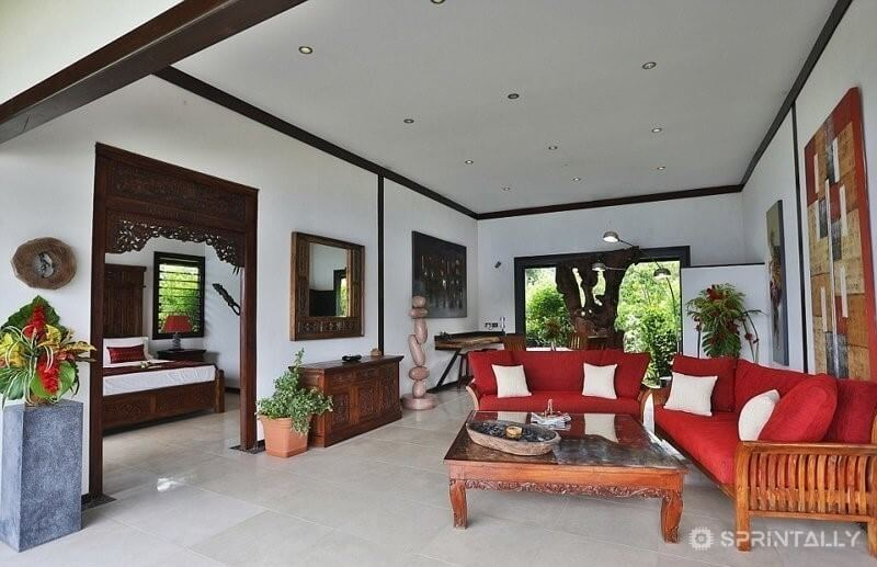 Plush Sofas, Natural Decor And A Beautiful View
