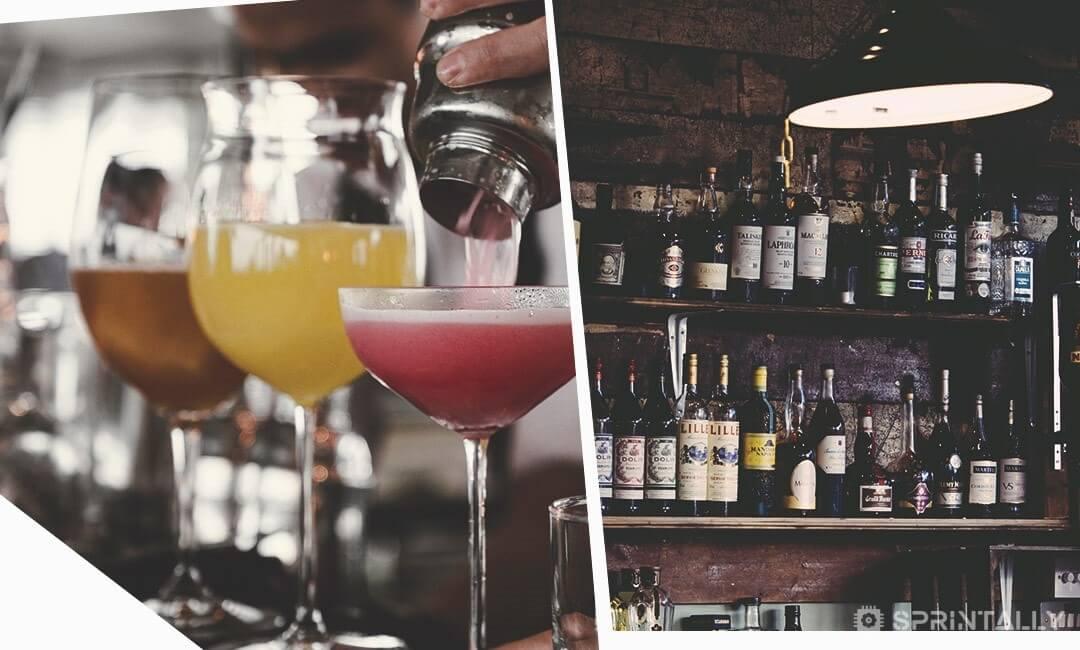 Arrange An Honesty Bar