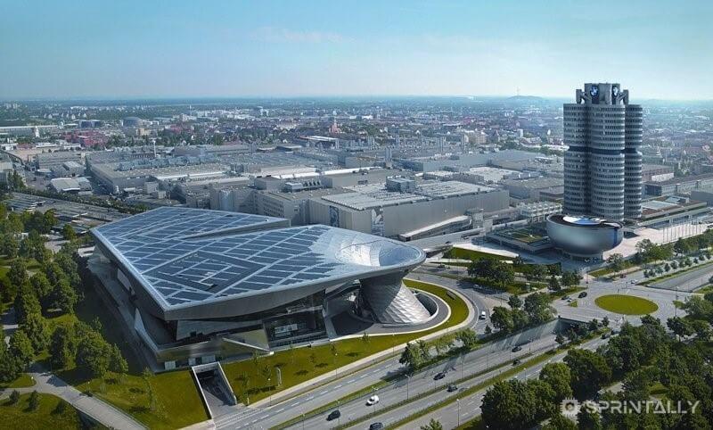 Bmw Plant In Munich